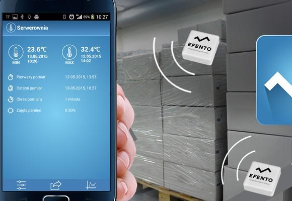 Rejestrator temperatury z Bluetooth 4.0 - współpracujący z telefonami i tabletami