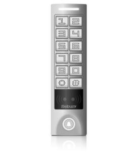 Czytnik kart (EM, HID) i zamek kodowy z kontrolerem dostępu i interfejsem Wiegand - Sebury SKW-S