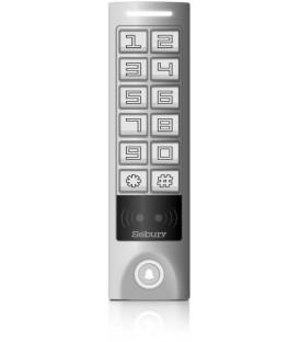 Czytnik kart (13,56 MHz Mifare) i zamek kodowy z kontrolerem dostępu i interfejsem Wiegand - Sebury SKW-MS