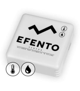 Bezprzewodowy sensor temperatury i wilgotności Efento