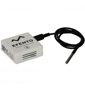Bezprzewodowy rejestrator temperatury z sondą PT1000