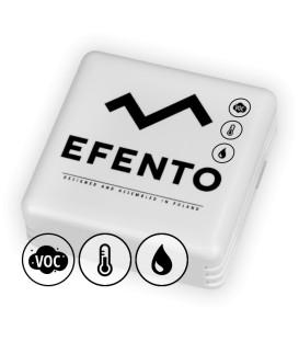 Bezprzewodowy rejestrator jakości powietrza, temperatury i wilgotności